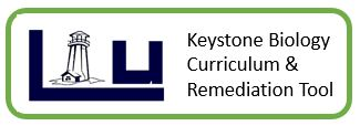 Keystone Biology Curriculum and Remediation Tool Logo