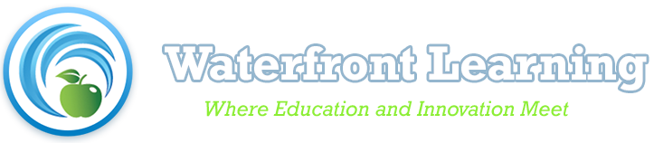 Waterfront Learning - Hybrid Learning Instructional Design Plan Logo